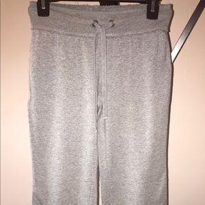 Gap Gray Full Length Sweats Workout Pants